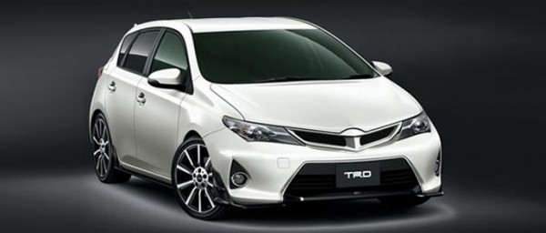 Тюнинг-пакет TRD Toyota Auris