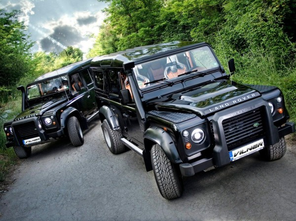 Тюнинг-пакет VILNER Land Rover Defender 90/110 2012