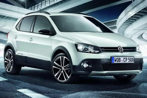Рестайлинг-пакет VW Cross Polo II Urban White 2012