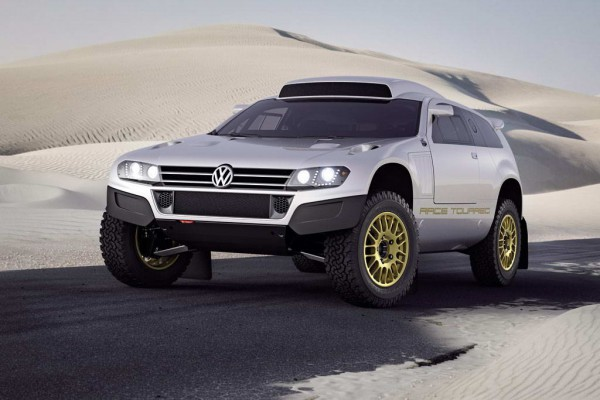 Рестайлинг-пакет VW Race Touareg 3 Qatar Street Legal