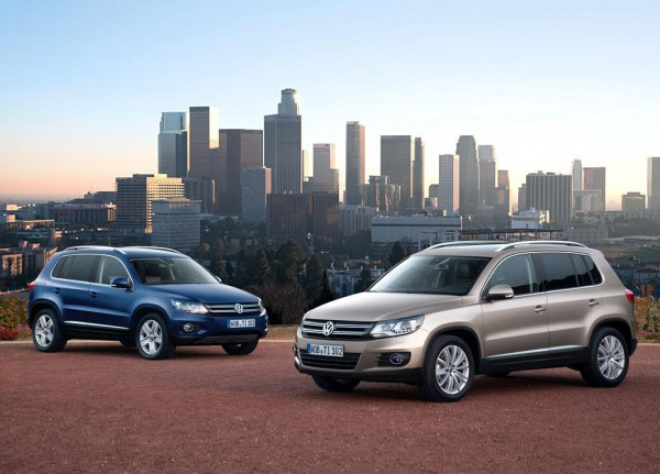 Рестайлинг-пакет VW Tiguan 2012