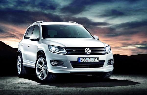 Рестайлинг-пакет VW Tiguan R-Line 2012
