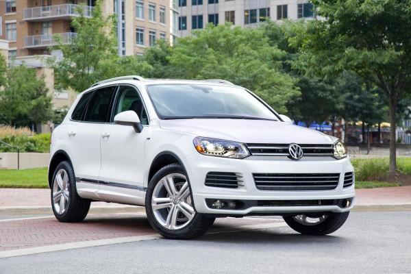 Рестайлинг-пакет VW Touareg II R-Line 2014