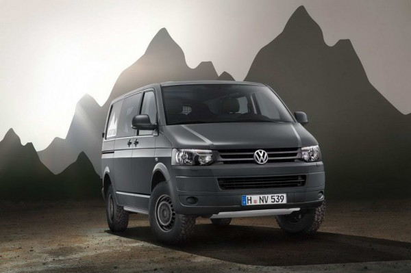 Рестайлинг-пакет VW Transporter T5 Rockton 2012