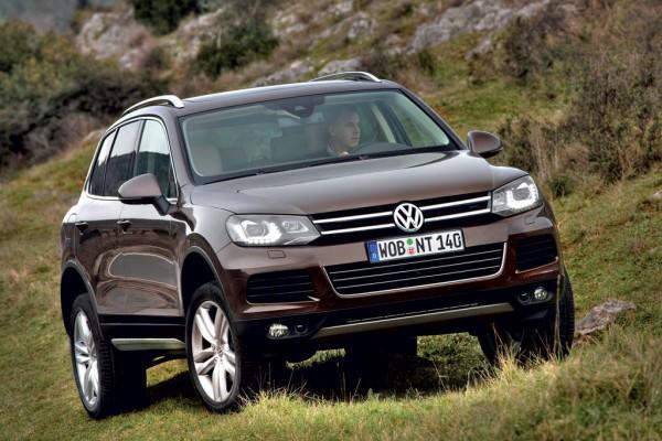Рестайлинг-пакет VW Touareg II 2010