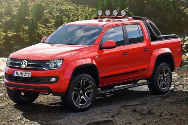 Рестайлинг-пакет VW Amarok Canyon 2012
