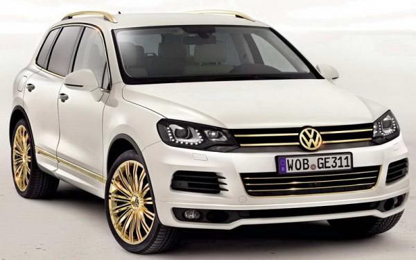 Рестайлинг-пакет VW Touareg II Gold Edition