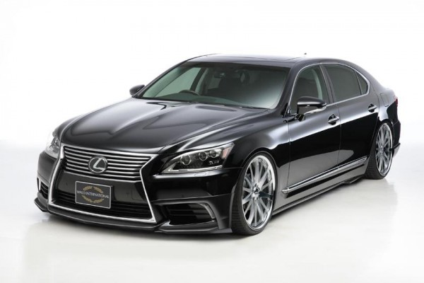 Тюнинг-пакет WALD Sports Line Lexus LS 2012