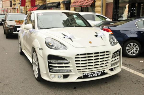 Тюнинг-пакет WHITE Diamond Porsche Cayenne 958
