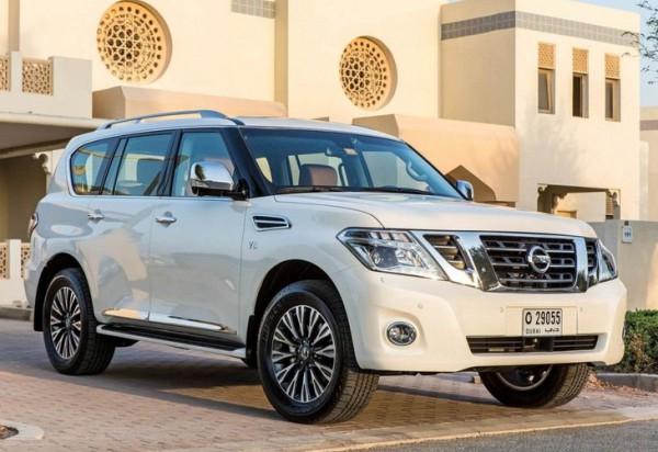 Рестайлинг-пакет Nissan Patrol 2014