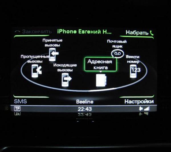 Мультимедийный интерфейс 3G Plus