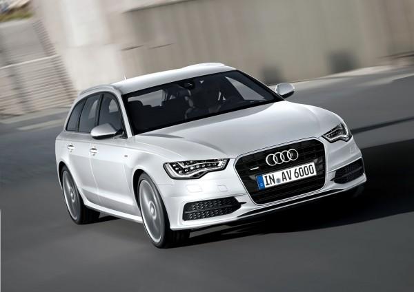 Рестайлинг-пакет Audi A6 Avant S-line 2012