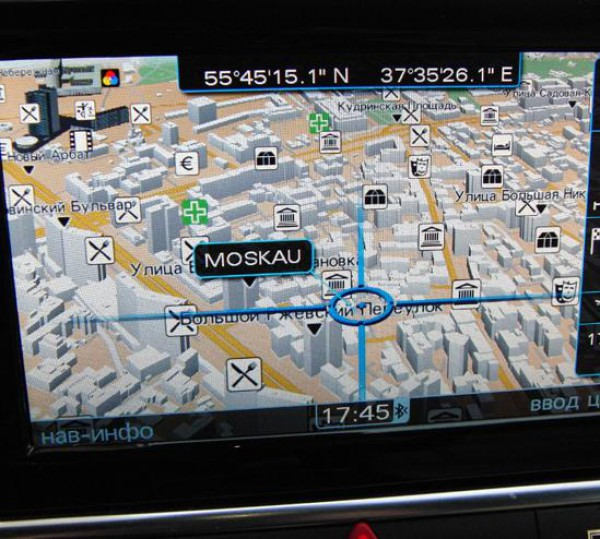 Навигационные карты MMI 3G и 3G Plus 2013