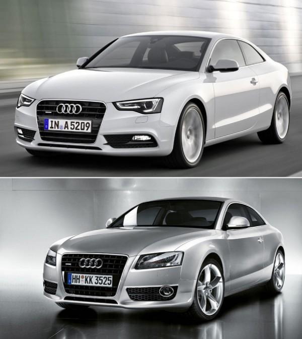 Полный внешний рестайлинг Audi A5 2012